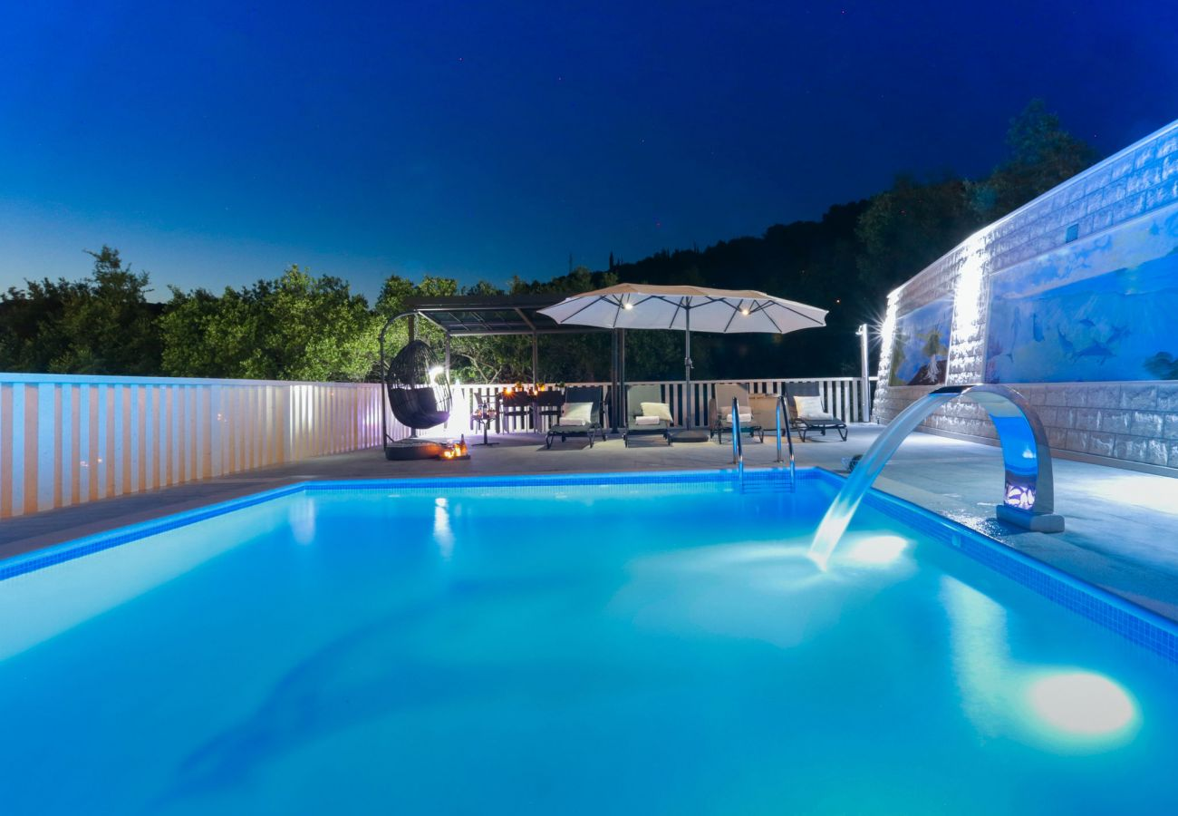 Huis in Poljica - Villa Blue Dolphin